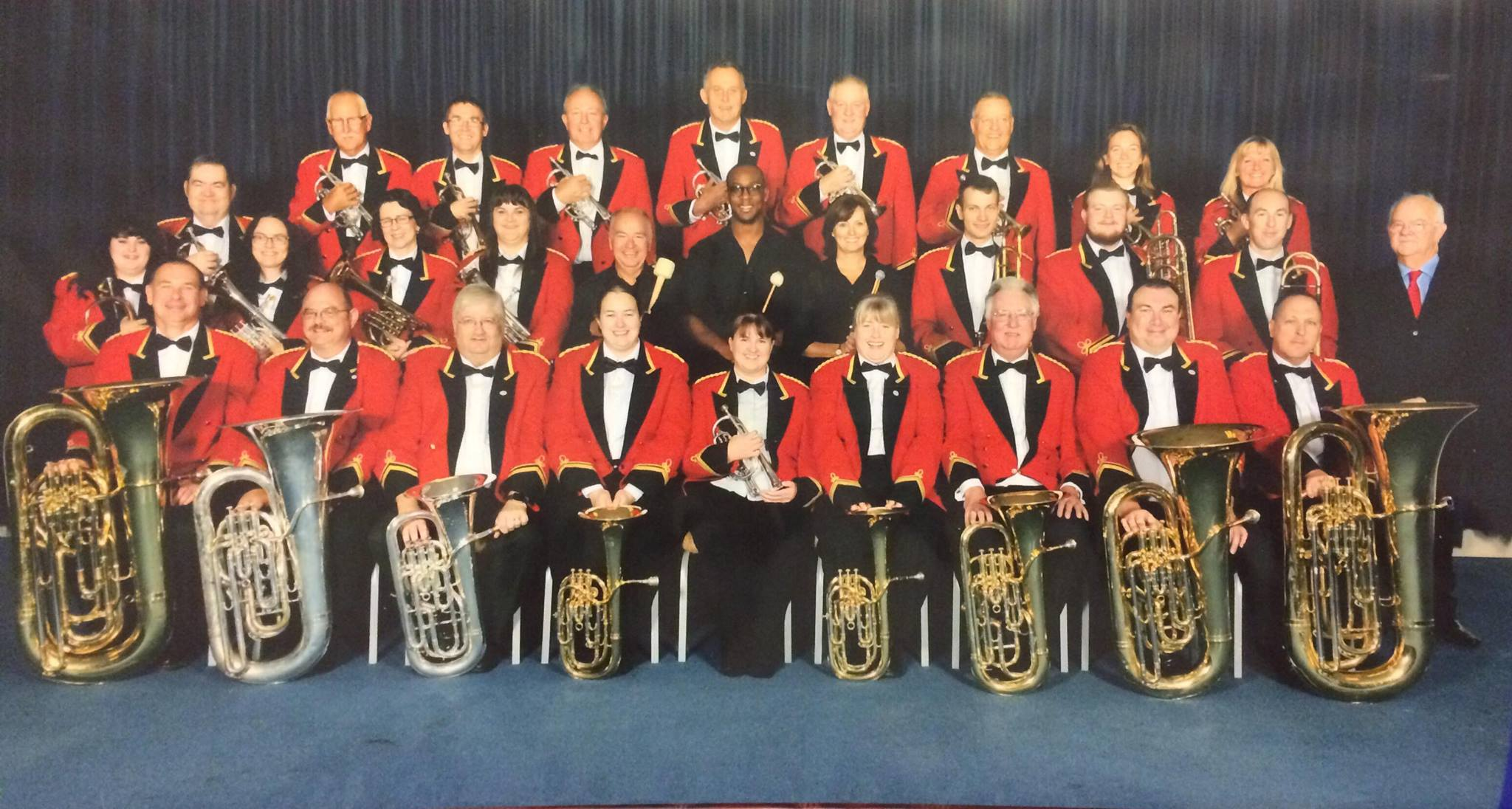 Otterbourne Brass at Cheltenham Racecourse